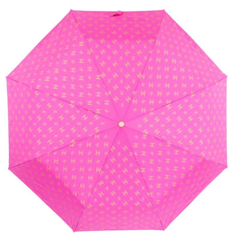 Женский зонт розового цвета полный автомат