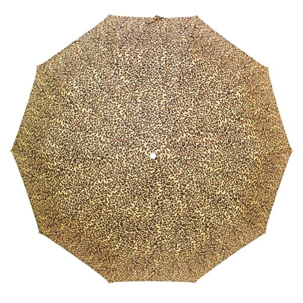 Зонт леопардового цвета полный автомат-Три Слона