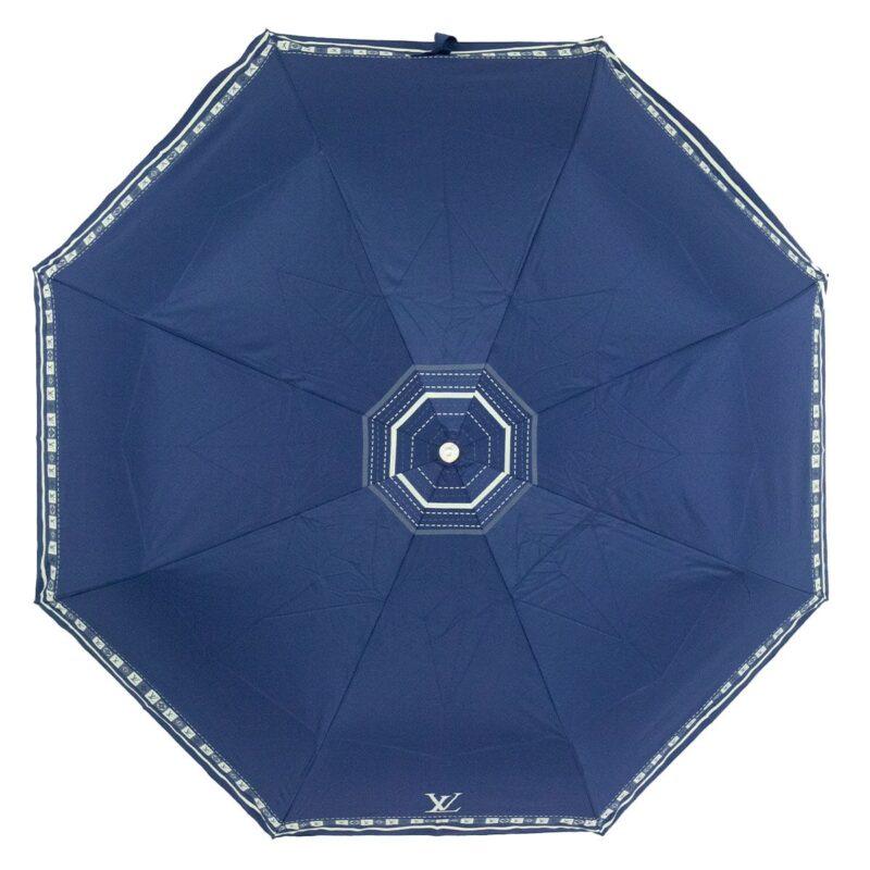 Женский зонт синего цвета полный автомат