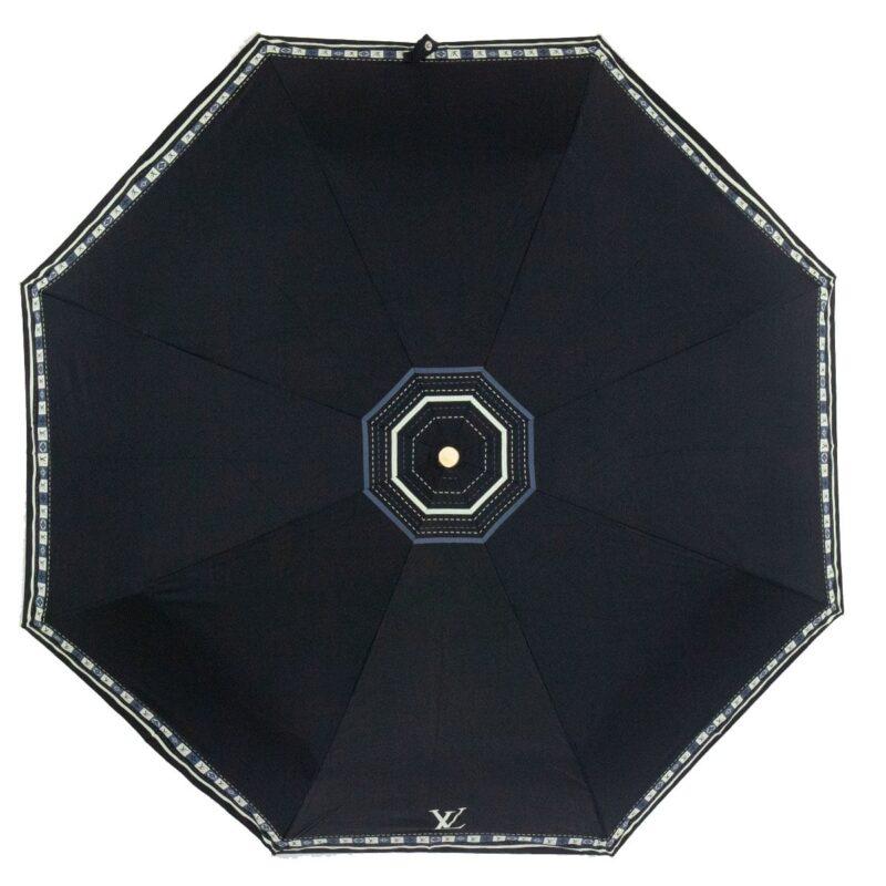 Женский зонт чёрного цвета полный автомат