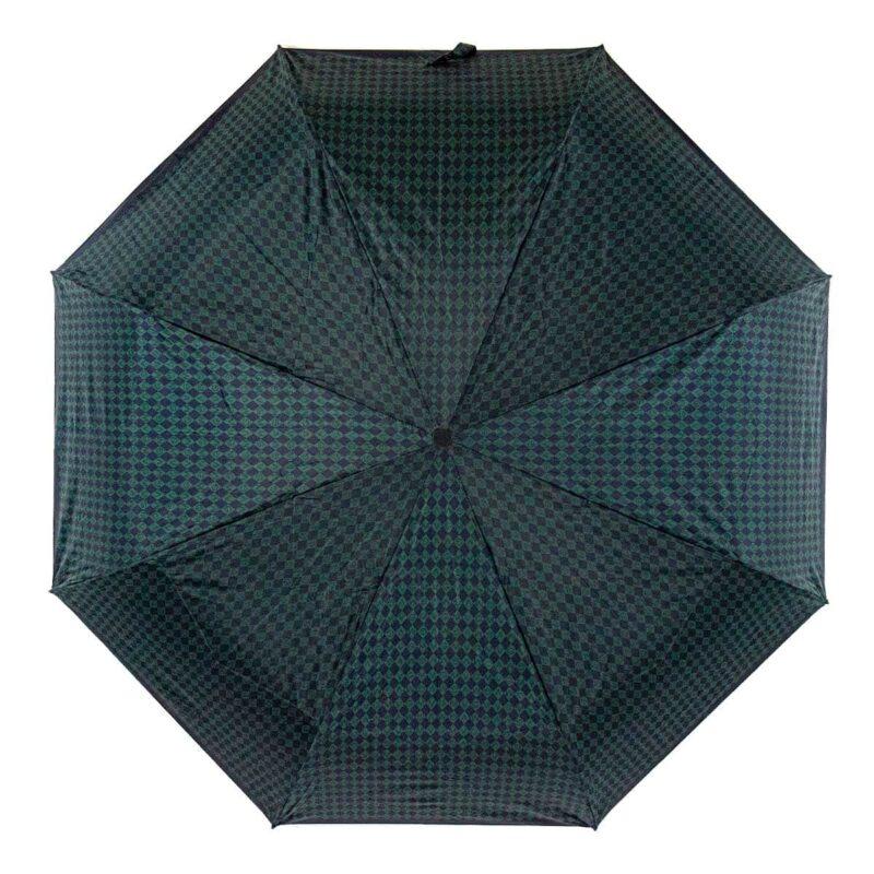 Мини зонт абстракции зелёного цвета-Три Слона