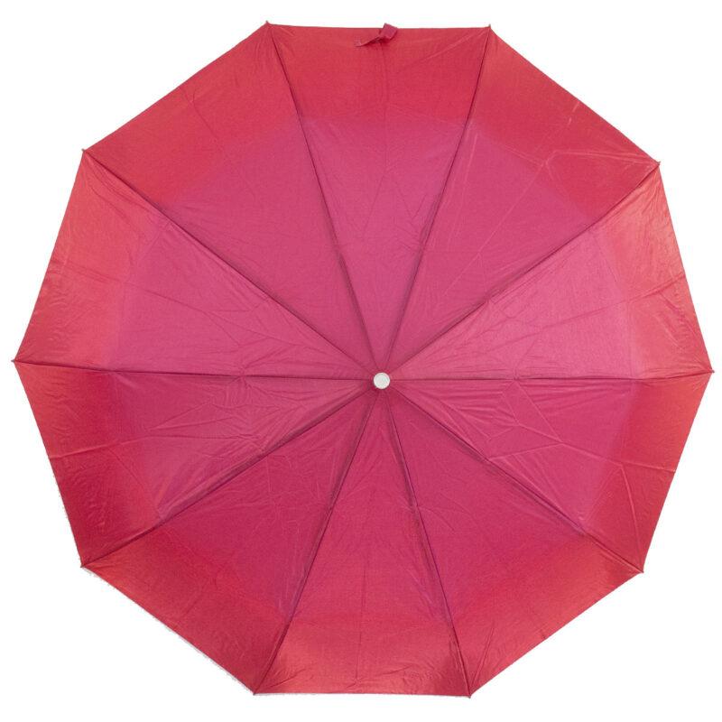 Женский зонт малинового цвета хамелеон