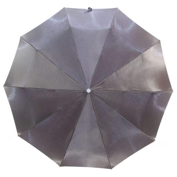 Женский зонт серого цвета хамелеон