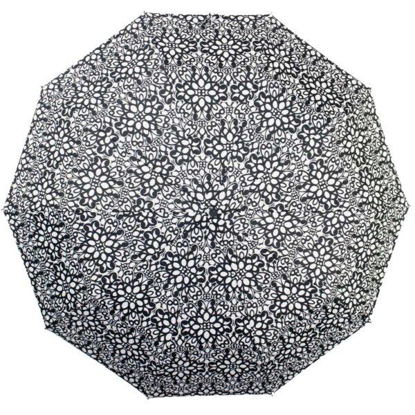 ЗонтЗонт с пЗонт полный автомат черно-белый узор-Koboldринтом зебра полный автомат | Kobold с принтом зебра полный автомат | Kobold