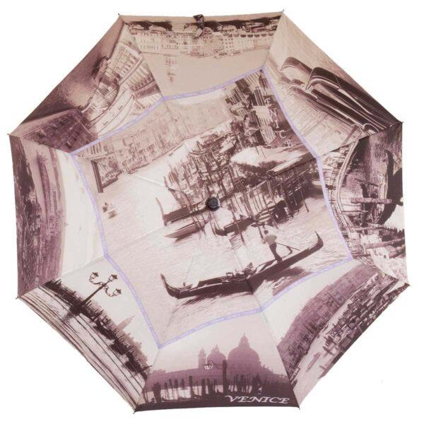 Женский зонт трость полуавтомат-Венеция