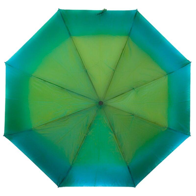 Женский зонт золото оливкового цвета хамелеон механический-Lucky Elephants