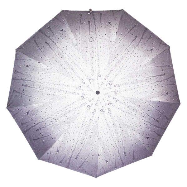 Зонт полуавтомат капли дождя абстракция-Lucky Elephants