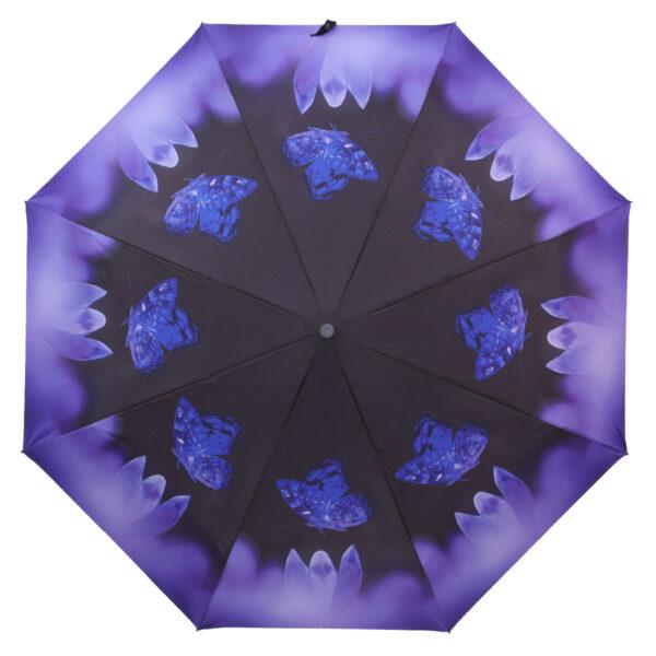 Зонт полный автомат цветочный принт-Lucky Elephants