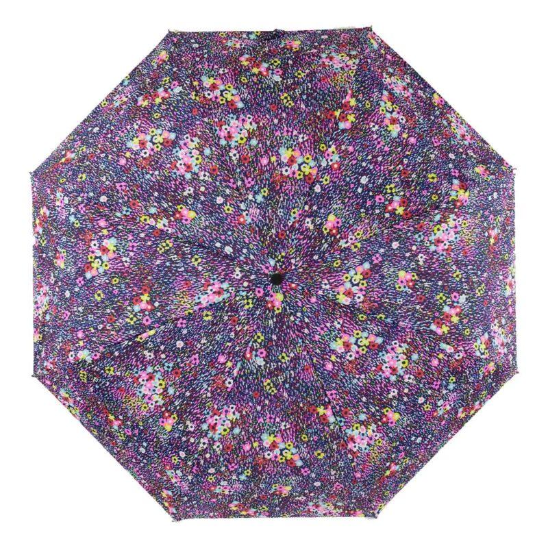 Мини зонт цветочный розового цвета-Три Слона