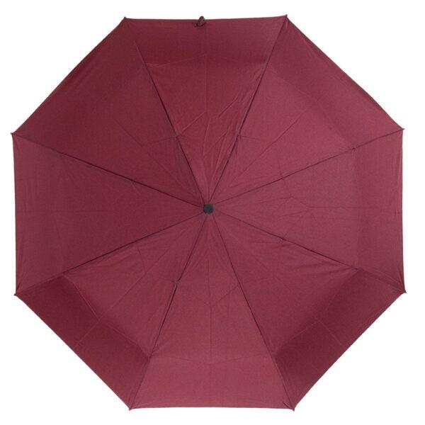 Мини зонт бордового цвета
